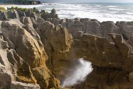 Pancake Rocks in Neeseeland