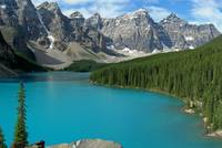 Moraine Lake in Alberta, Kanada