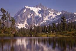 Mount Shuksan in Washington, USA