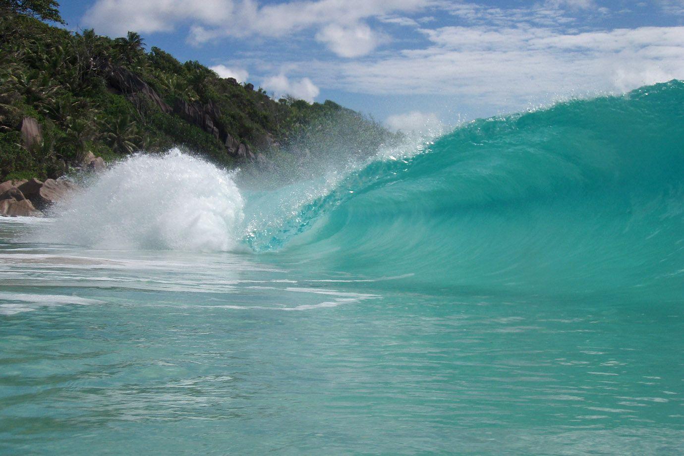 Wellen Aus Wasser Und Wichse